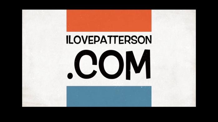 I love Patterson logo